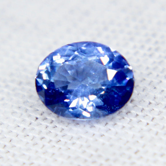 Natural Blue Sapphire | Oval Cut | 6.00x4.90 mm | Eye Clean | Untreated Gemstones | Engagement Rings | Sapphire Jewelries
