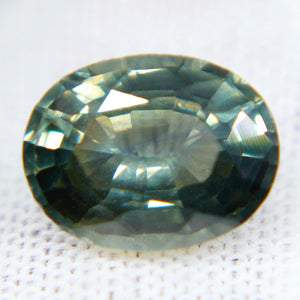 Natural Green Sapphire | Oval Cut | 8.85x6.80 mm | 2.15 Carat | Unheated Untreated Sapphire | Sapphire Ring | Sapphire Jewellery
