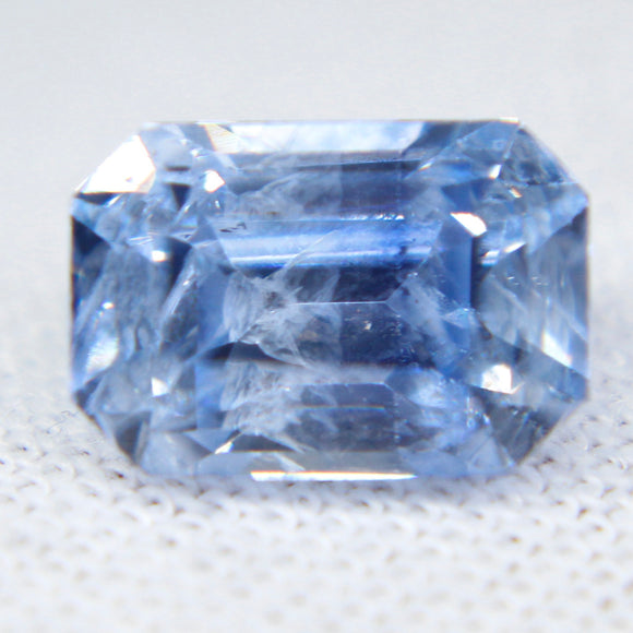 Natural Blue Sapphire | Emerald Cut | 8.67x5.95 mm | 2.60 Carat | Sapphire Rings | Sapphire Jewellery | Engagement Rings | Wedding Bands