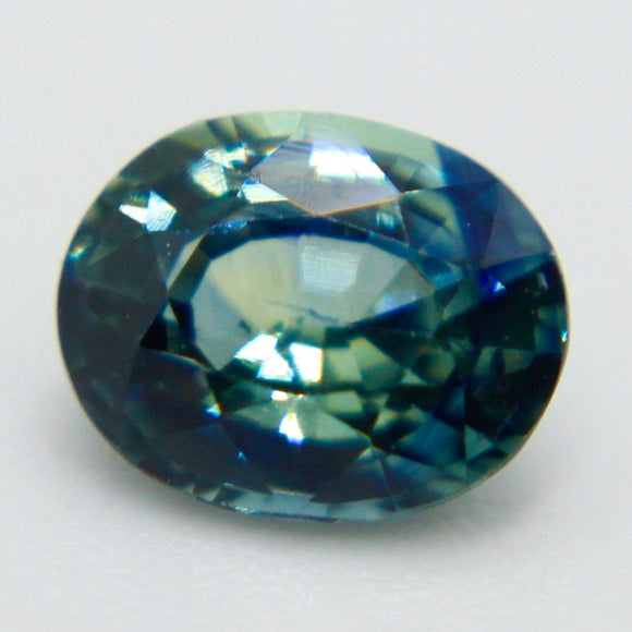 Natural Blue Green Sapphire | Oval Cut | 0.75 Carat | 5.88x4.73 mm | Engagement Rings | Loose Sapphire | Natural Gemstones | Loose Gemstones
