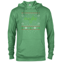 Load image into Gallery viewer, Node Programming Ugly Sweater Christmas Holiday Comfort-Fit Hoodie - Bitcoin & Bunk