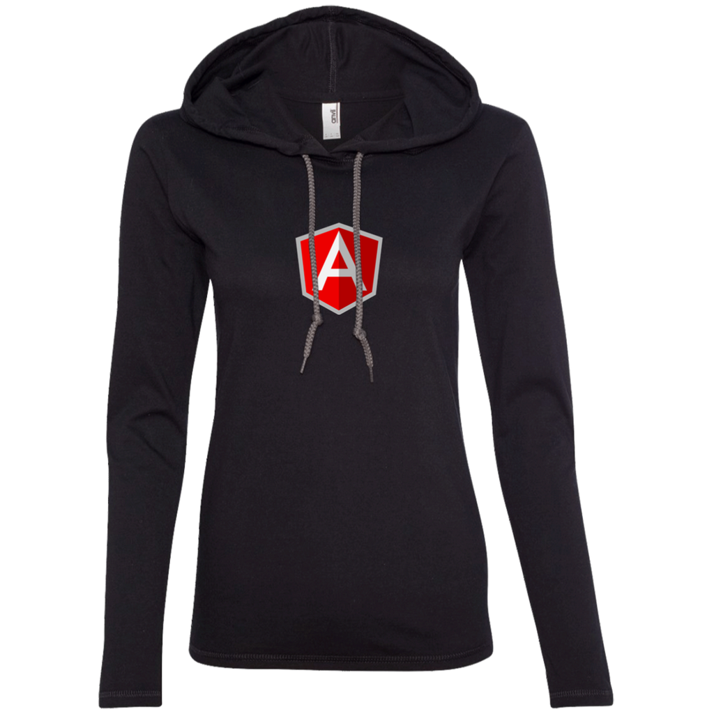 AngularJS Programming Authentic Women's Long Sleeve Hooded Shirt
