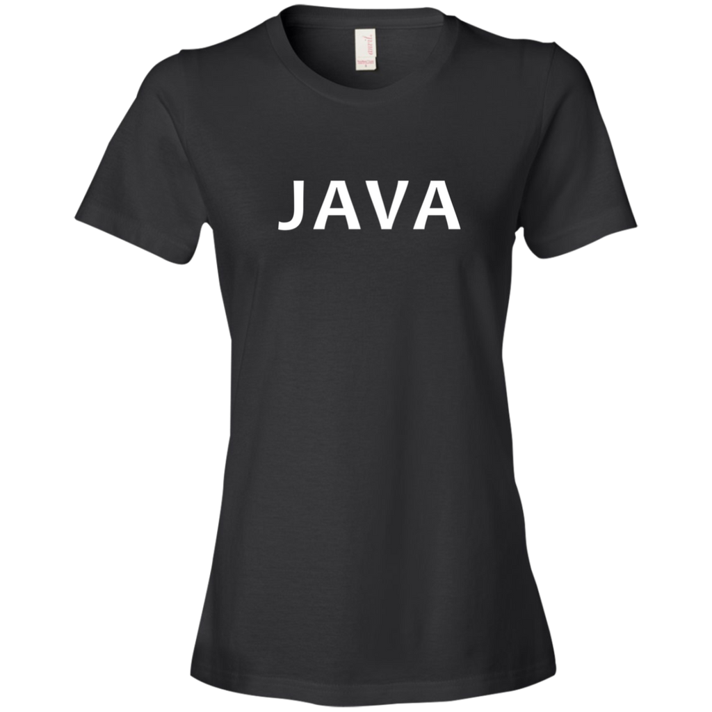 Java Programming Authentic Premium Women's Tee - Bitcoin & Bunk