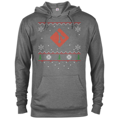 Git Programming Ugly Sweater Christmas Holiday Comfort-Fit Hoodie