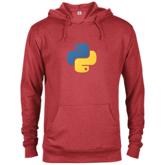 Python Programming Authentic Comfort-Fit Hoodie - Bitcoin & Bunk