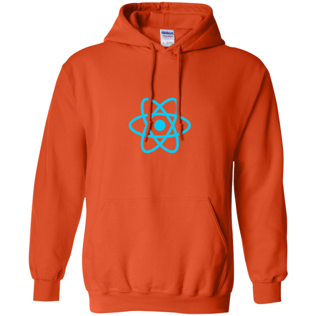 React Programming Authentic Casual Light-Fit Hoodie - Bitcoin & Bunk