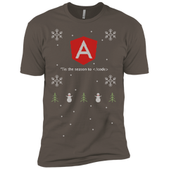 Angular 'Tis The Season To Code Ugly Sweater Premium Christmas Holiday T-Shirt