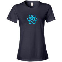 Load image into Gallery viewer, React Programming Authentic Premium Women's Tee - Bitcoin & Bunk