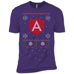 Angular Programming Ugly Sweater Premium Christmas Holiday T-Shirt