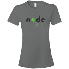 Node Programming Authentic Premium Women's Tee