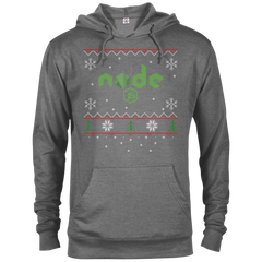 Node Programming Ugly Sweater Christmas Holiday Comfort-Fit Hoodie