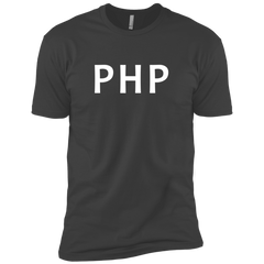 PHP Programming Branded Premium T-Shirt - Bitcoin & Bunk