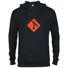 Git Programming Authentic Comfort-Fit Hoodie - Bitcoin & Bunk
