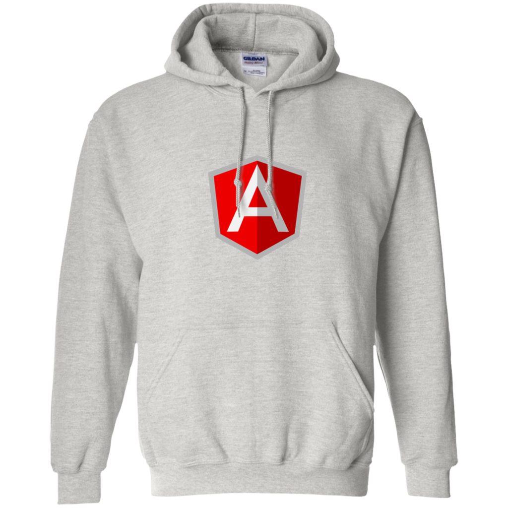 AngularJS Programming Authentic Casual Light-Fit Hoodie - Bitcoin & Bunk
