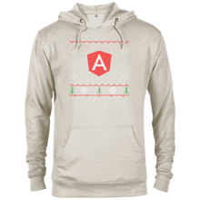 Load image into Gallery viewer, Angular Programming Ugly Sweater Christmas Holiday Comfort-Fit Hoodie - Bitcoin & Bunk