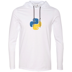 Python Programming Authentic Premium Hooded Long Sleeve Shirt - Bitcoin & Bunk