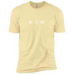 2b Or Not 2b Premium T-Shirt - Bitcoin & Bunk