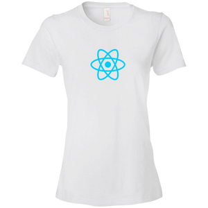 React Programming Authentic Premium Women's Tee - Bitcoin & Bunk