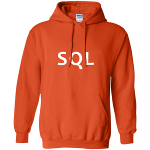SQL Programming Authentic Casual Light-Fit Hoodie - Bitcoin & Bunk