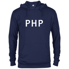PHP Programming Authentic Comfort-Fit Hoodie - Bitcoin & Bunk