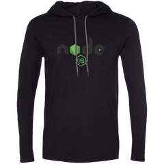 Node Programming Authentic Premium Hooded Long Sleeve Shirt - Bitcoin & Bunk