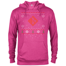 Load image into Gallery viewer, Git Programming Ugly Sweater Christmas Holiday Comfort-Fit Hoodie - Bitcoin & Bunk