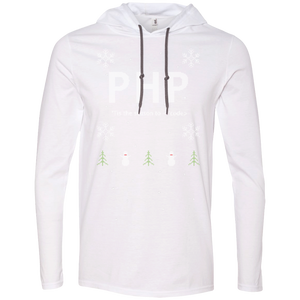 PHP 'Tis The Season To Code Premium Hooded Shirt - Bitcoin & Bunk