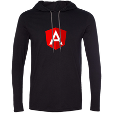 Load image into Gallery viewer, logo Programming Authentic Premium Hooded Long Sleeve Shirt