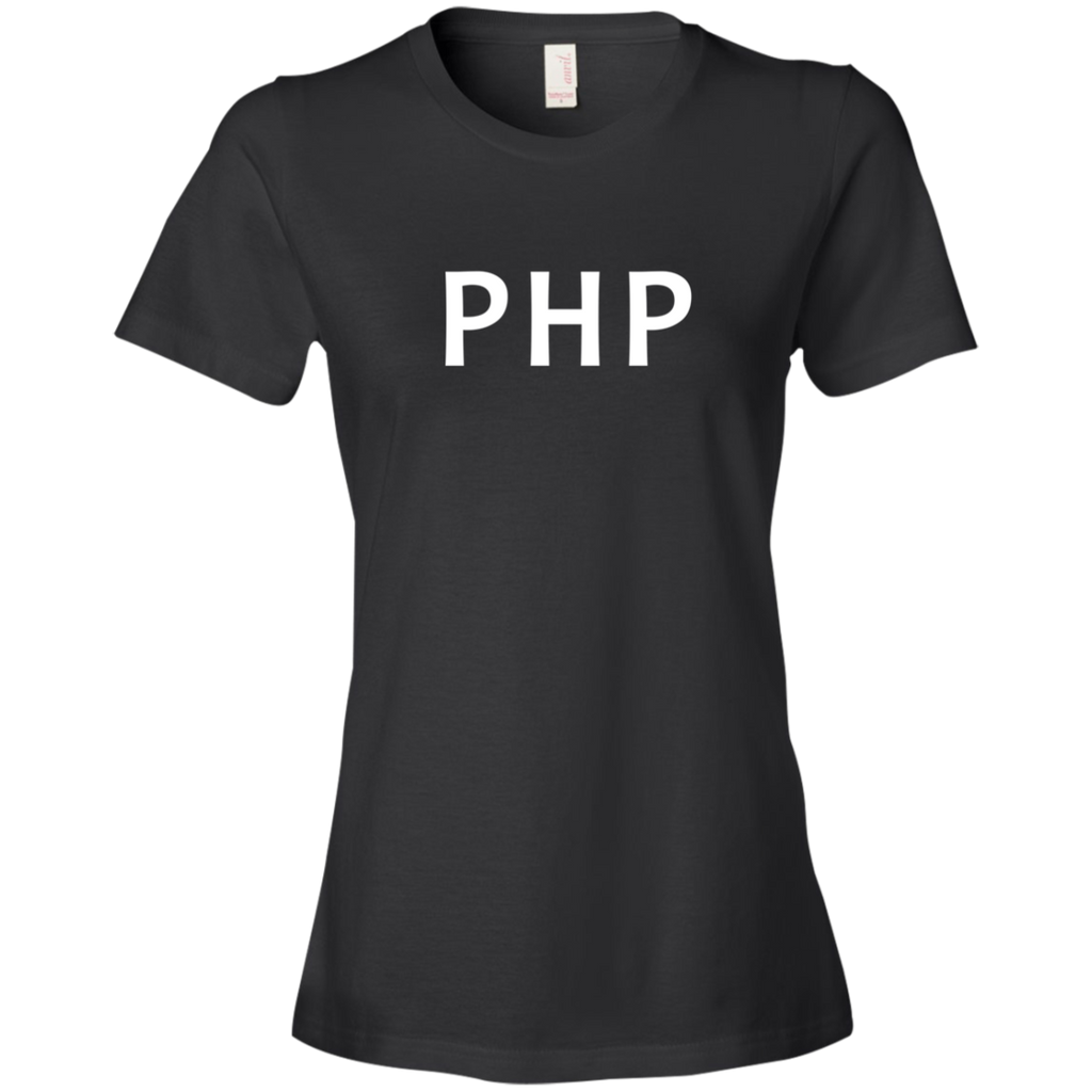 PHP Programming Authentic Premium Women's Tee
