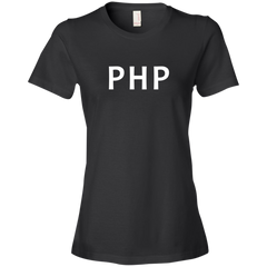 PHP Programming Authentic Premium Women's Tee - Bitcoin & Bunk