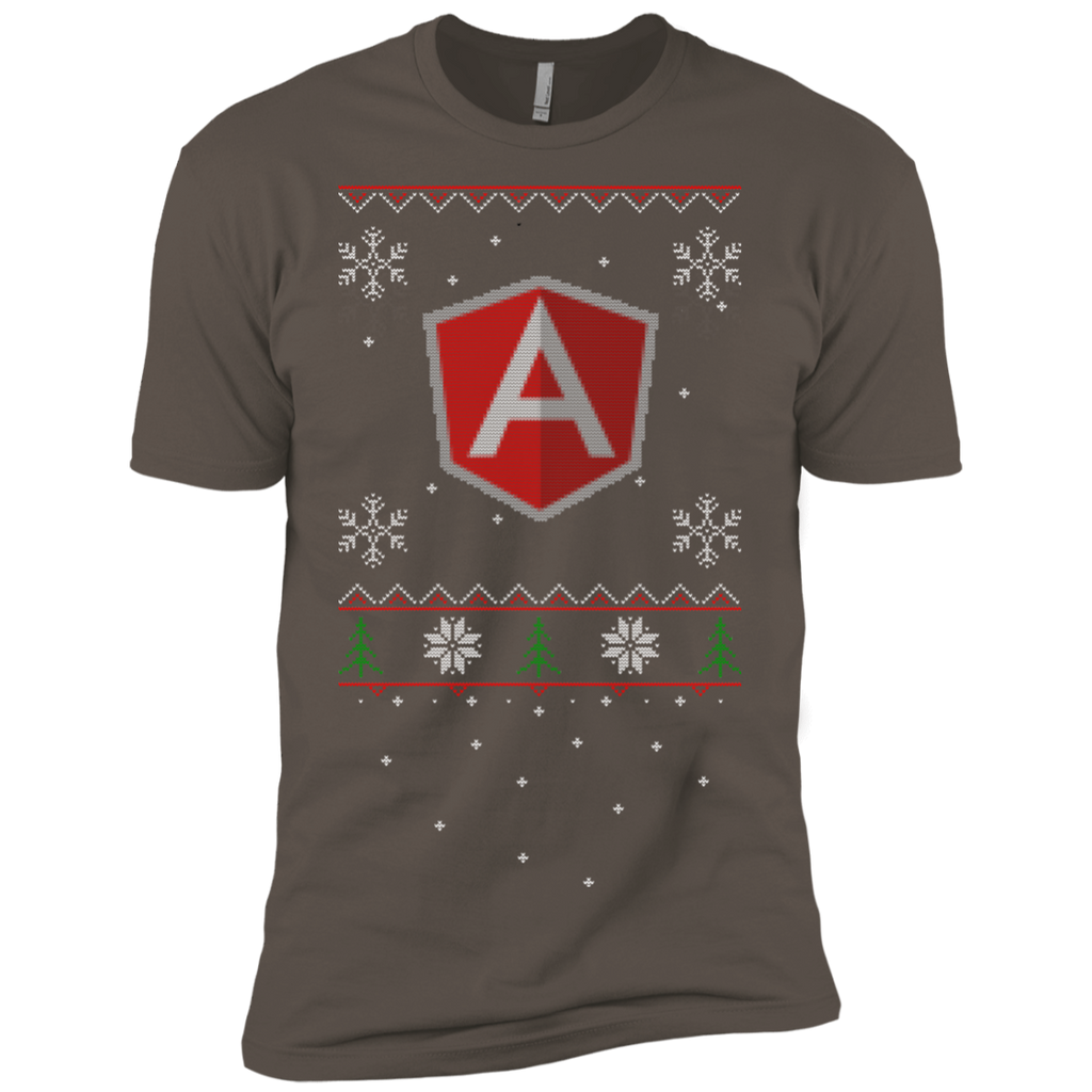 AngularJS Programming Ugly Sweater Premium Christmas Holiday T-Shirt