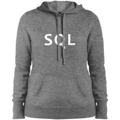 SQL Programming Authentic Women's Warm-Sport Hoodie - Bitcoin & Bunk