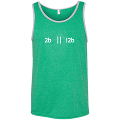 2b Or Not 2b Pure Cotton Performance Tank-Top