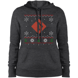 Git Programming Women's Ugly Sweater Christmas Holiday Warm-Sport Hoodie - Bitcoin & Bunk