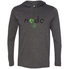 Node Programming Authentic Premium Hooded Long Sleeve Shirt