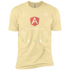 AngularJS 'Tis The Season To Code Ugly Sweater Premium Christmas Holiday T-Shirt