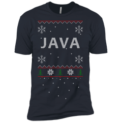 Java Programming Ugly Sweater Premium Christmas Holiday T-Shirt