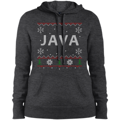 Java Programming Women's Ugly Sweater Christmas Holiday Warm-Sport Hoodie