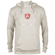 Load image into Gallery viewer, AngularJS Programming 'Tis The Season To Code Ugly Sweater Holiday Comfort-Fit Hoodie - Bitcoin & Bunk