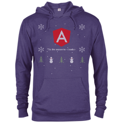 Angular Programming 'Tis The Season To Code Ugly Sweater Holiday Comfort-Fit Hoodie