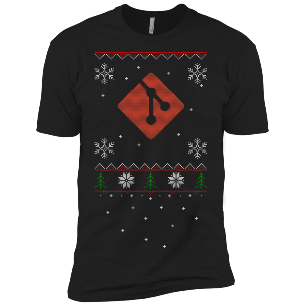Git Programming Ugly Sweater Premium Christmas Holiday T-Shirt
