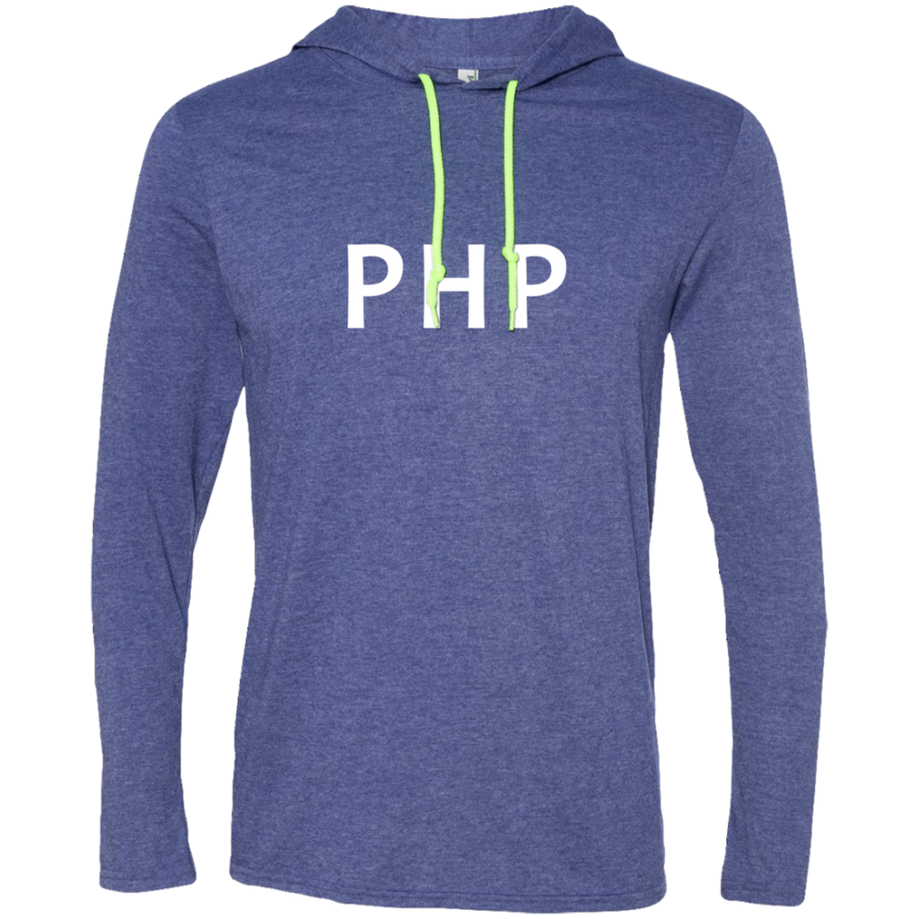 PHP Programming Authentic Premium Hooded Long Sleeve Shirt