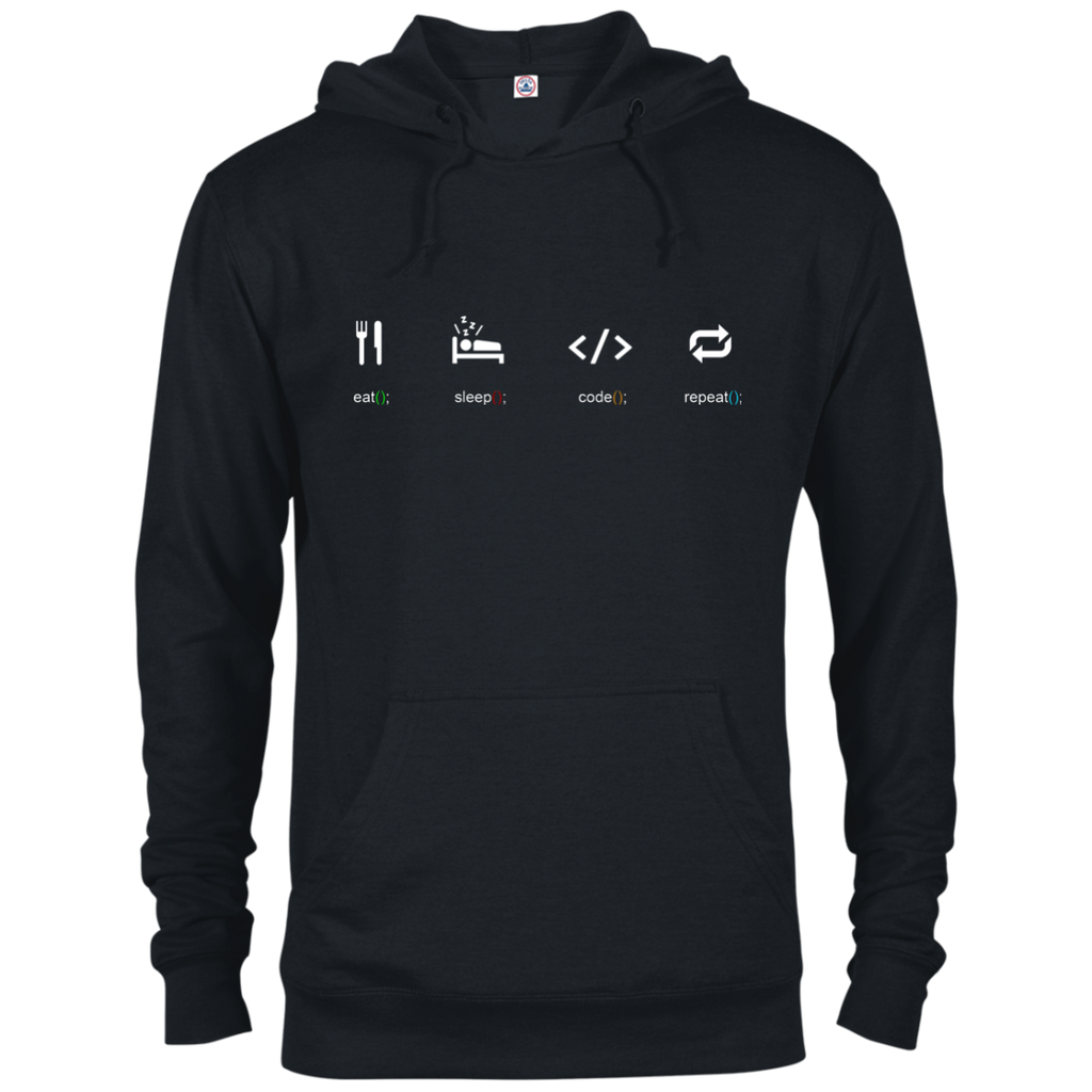 Eat Sleep Code Repeat Warm-Sport Hoodie - Bitcoin & Bunk