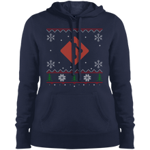 Load image into Gallery viewer, Git Programming Women's Ugly Sweater Christmas Holiday Warm-Sport Hoodie - Bitcoin & Bunk