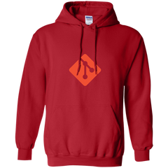 Git Programming Authentic Casual Light-Fit Hoodie - Bitcoin & Bunk