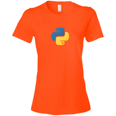 Python Programming Authentic Premium Women's Tee - Bitcoin & Bunk