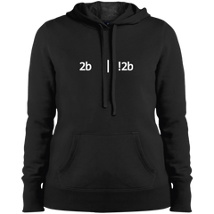 2b Or Not 2b Women's Warm-Sport Hoodie - Bitcoin & Bunk