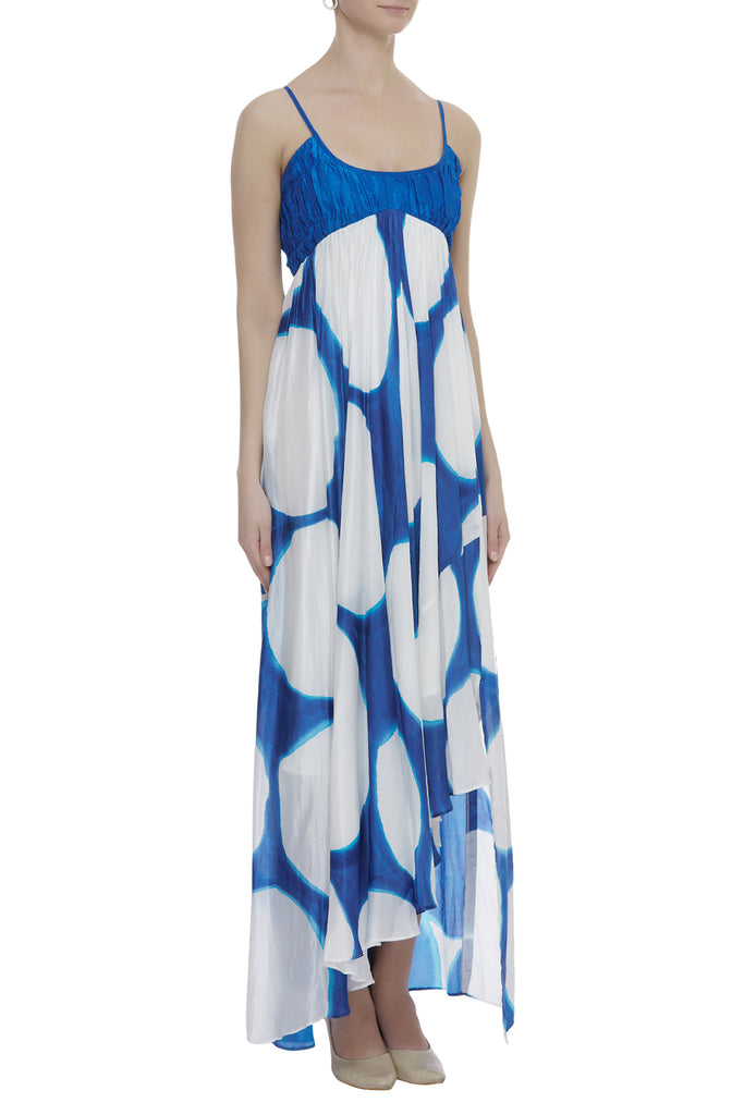 Hand Brush Painted Maxi Dress