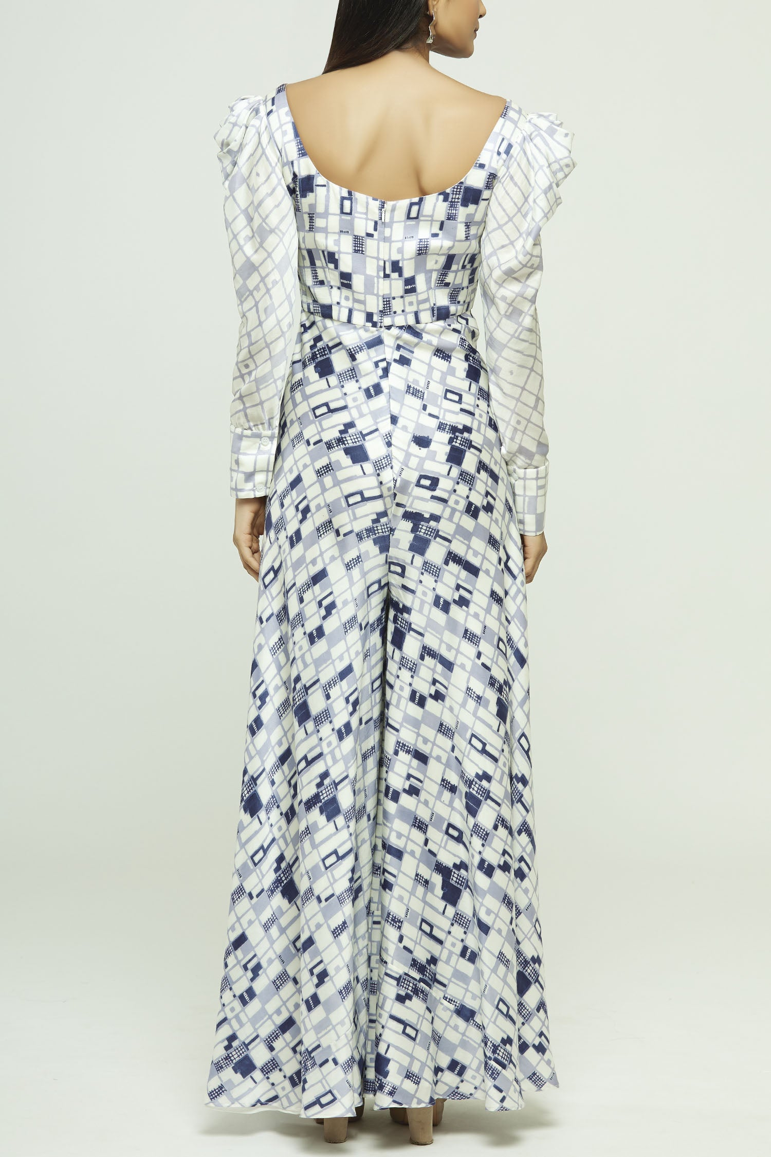 Block Printed Jumpsuit