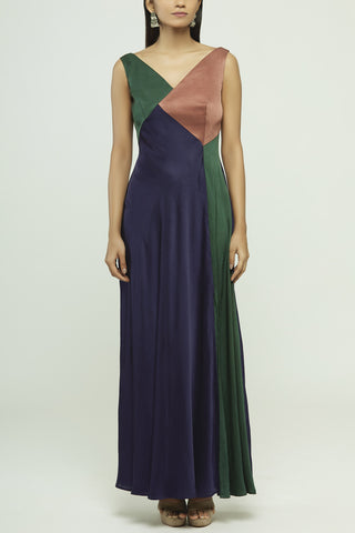Solid Dyed Long Dress